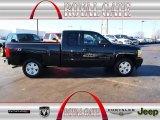 2010 Black Granite Metallic Chevrolet Silverado 1500 LT Extended Cab 4x4 #77453986