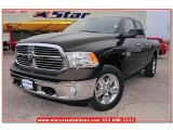 2013 Black Gold Pearl Ram 1500 Lone Star Quad Cab 4x4 #77454107