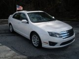 2010 White Platinum Tri-coat Metallic Ford Fusion SEL #77454135