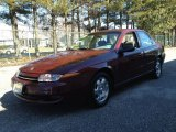 2000 Dark Red Saturn L Series LS2 Sedan #77474964