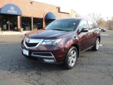 2011 Dark Cherry Pearl Acura MDX Technology #77474810