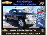 2013 Black Chevrolet Silverado 1500 LT Crew Cab 4x4 #77474801