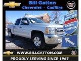 2013 Silver Ice Metallic Chevrolet Silverado 1500 LT Crew Cab 4x4 #77474800