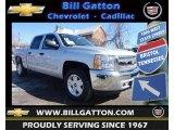 2013 Silver Ice Metallic Chevrolet Silverado 1500 LT Crew Cab 4x4 #77474798