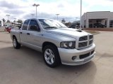 2005 Bright Silver Metallic Dodge Ram 1500 Sport Quad Cab #77474496