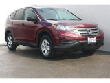 2012 Basque Red Pearl II Honda CR-V LX #77474161