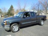 Dark Gray Metallic Chevrolet Silverado 1500 in 2005