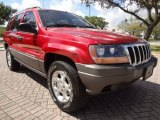 2001 Jeep Grand Cherokee Inferno Red Crystal Pearl