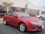 2010 Sangria Red Metallic Ford Fusion SEL #77474601