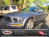 2006 Tungsten Grey Metallic Ford Mustang V6 Deluxe Convertible #77473815