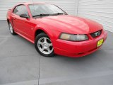 2003 Torch Red Ford Mustang V6 Coupe #77474278