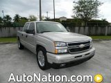 2006 Silver Birch Metallic Chevrolet Silverado 1500 LS Crew Cab #77474428