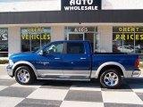 2011 Deep Water Blue Pearl Dodge Ram 1500 Laramie Crew Cab #77474422