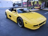 1997 Yellow Ferrari F355 Spider #77474578