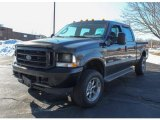 2004 Black Ford F250 Super Duty XL Crew Cab 4x4 #77474545