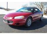 2002 Inferno Red Pearl Chrysler Sebring GTC Convertible #77474534