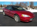 2002 Chrysler Sebring Inferno Red Pearl