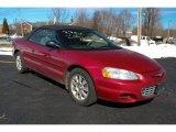 2002 Chrysler Sebring Inferno Red Pearl