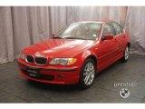 2002 Electric Red BMW 3 Series 330xi Sedan #7737257