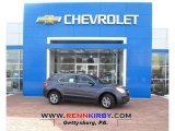 2013 Atlantis Blue Metallic Chevrolet Equinox LS AWD #77474525
