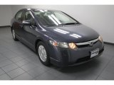 2006 Galaxy Gray Metallic Honda Civic Hybrid Sedan #77474517