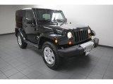 2012 Black Jeep Wrangler Sahara 4x4 #77474510