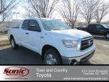 2013 Super White Toyota Tundra SR5 TRD Double Cab 4x4 #77555850