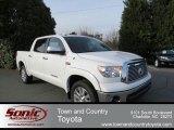 2013 Super White Toyota Tundra Platinum CrewMax 4x4 #77555848