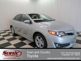 2013 Classic Silver Metallic Toyota Camry SE #77555846