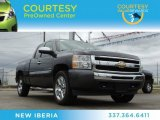 2010 Taupe Gray Metallic Chevrolet Silverado 1500 LT Extended Cab #77556065