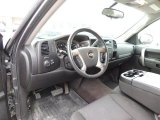 2010 Chevrolet Silverado 1500 LT Extended Cab Ebony Interior