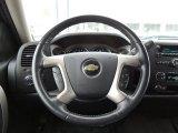 2010 Chevrolet Silverado 1500 LT Extended Cab Steering Wheel