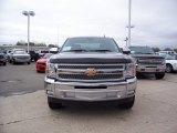 2013 Graystone Metallic Chevrolet Silverado 1500 LT Crew Cab #77556060