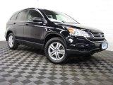 2010 Crystal Black Pearl Honda CR-V EX AWD #77555828