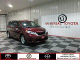 2012 Salsa Red Pearl Toyota Sienna LE #77555489