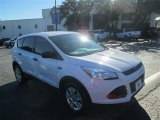 2013 Oxford White Ford Escape S #77555475