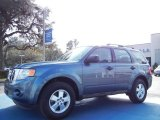 2010 Steel Blue Metallic Ford Escape XLS #77555582