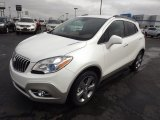 2013 White Pearl Tricoat Buick Encore Leather #77555800