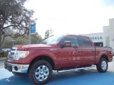 2013 Ruby Red Metallic Ford F150 XLT SuperCrew 4x4 #77555575
