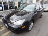 2004 Pitch Black Ford Focus SE Sedan #77555913