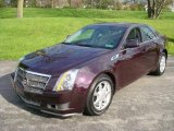 2009 Black Cherry Cadillac CTS Sedan #7735119