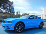 2013 Grabber Blue Ford Mustang GT Premium Coupe #77555557