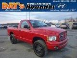 2005 Flame Red Dodge Ram 1500 SLT Regular Cab 4x4 #77556023