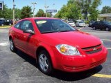 2007 Victory Red Chevrolet Cobalt LS Coupe #7742697