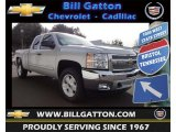 2013 Silver Ice Metallic Chevrolet Silverado 1500 LT Extended Cab 4x4 #77556077