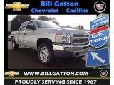 2013 Silver Ice Metallic Chevrolet Silverado 1500 LT Crew Cab 4x4 #77556076