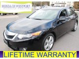 2010 Crystal Black Pearl Acura TSX Sedan #77555536