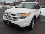 2011 White Suede Ford Explorer XLT 4WD #77555334
