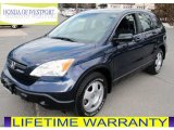 2009 Royal Blue Pearl Honda CR-V LX 4WD #77555529