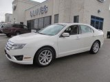 2011 White Suede Ford Fusion SEL V6 AWD #77555662